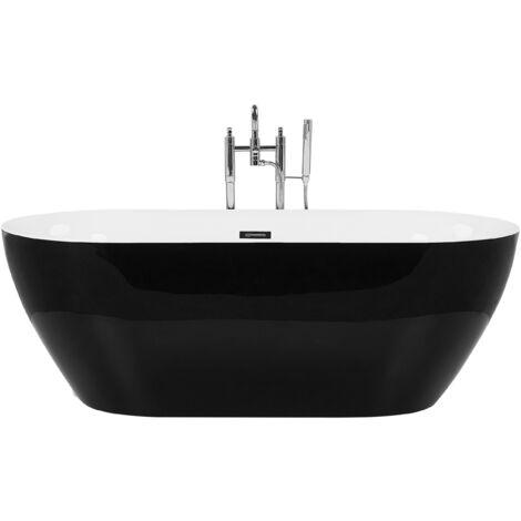 Freestanding Bath Black CARRERA