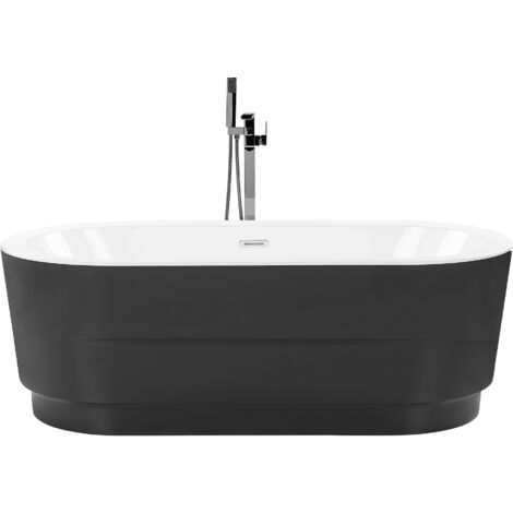 Freestanding Bath Black EMPRESA
