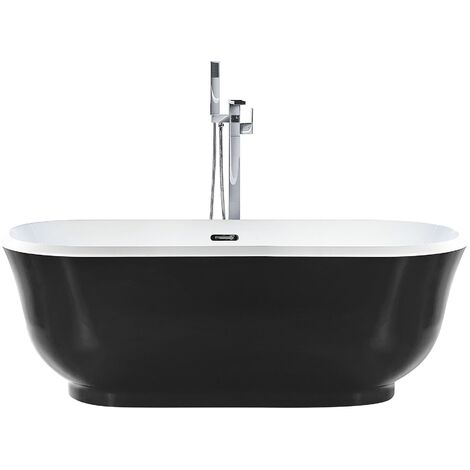 Freestanding Bath Black TESORO
