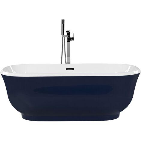 Freestanding Bath Blue TESORO