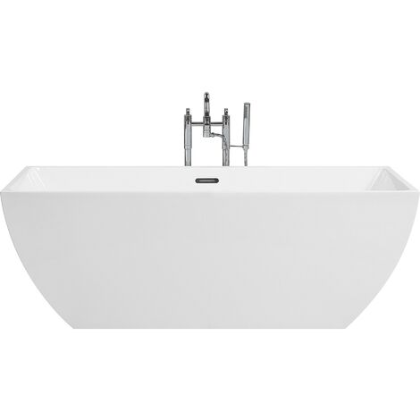 Freestanding Bath White CABRUNA