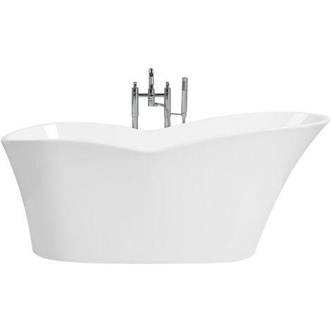 Freestanding Bath White DULCINA