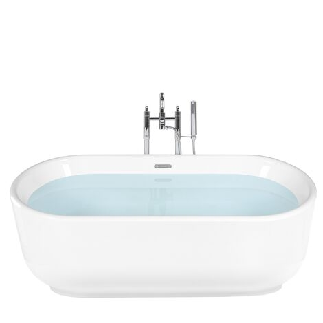 Freestanding Bath White PINEL