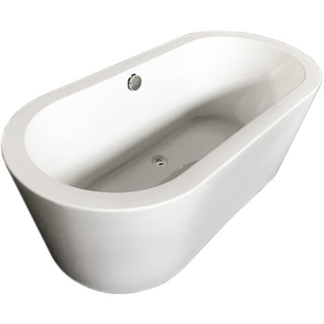 FREESTANDING BATHTUB MODERN DESIGN BATH TUB Cleopatra 170 x 80 cm NEW