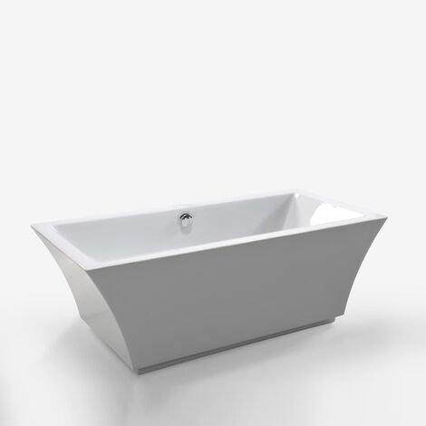 FREESTANDING BATHTUB MODERN DESIGN BATH TUB Susan 170 x 80 cm NEW