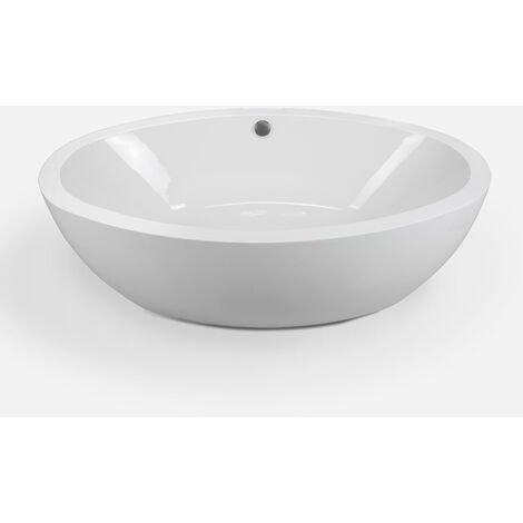 FREESTANDING BATHTUB MODERN DESIGN BATH TUB Tiffany 190 x 120 cm NEW