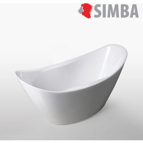 FREESTANDING BATHTUB MODERN DESIGN BATH TUB Wanda 172 x 72 cm NEW