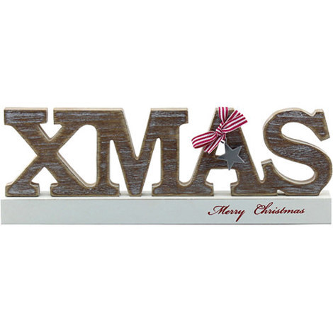 Freestanding Merry Christmas Sign