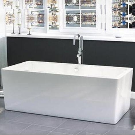 Freestanding Modern Double Ended Bath 1705mm - Harper By Voda Design