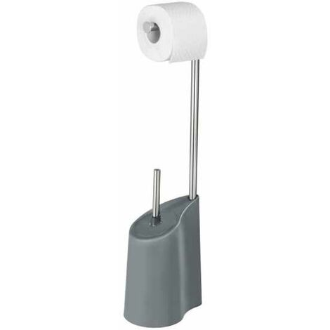 Freestanding toilet brush Harbor grey WENKO
