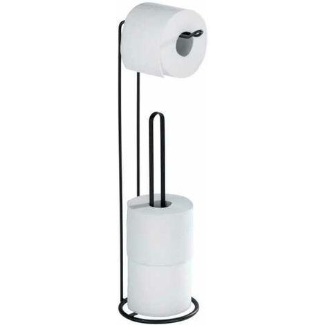 Freestanding toilet paper holder 2 in 1 Lugano WENKO