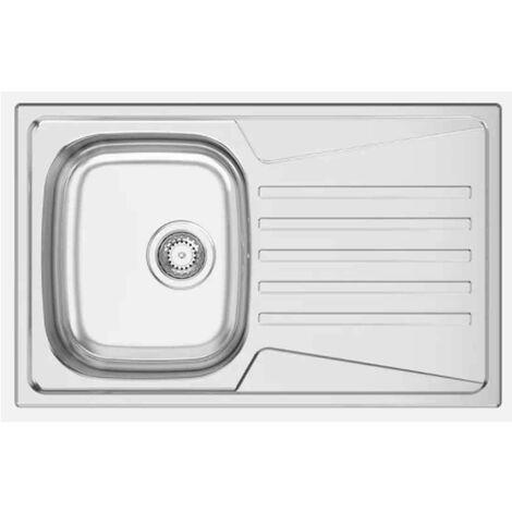 Fregadero de cocina con escurridor Keran 80 para encastrar 80x50CM