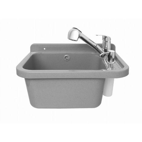 Fregadero lavabo comercial set completo con lavabo