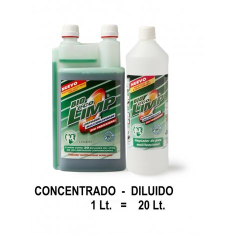 Fregasuelos limpiador concentrado