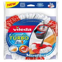 Fregona limp rec. microf turbo 2 en 1 vileda