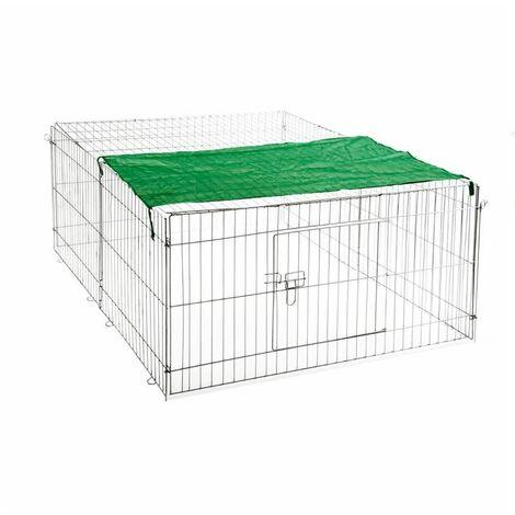 Freilaufgehege Hasen Auslauf Freigehege Kaninchen Nager Freilauf XL oder XXL