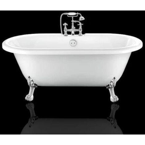 Freistehende Badewanne mit Füßen CHELSEA