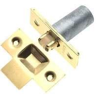 Frelan Adjustable Roller Bolt - 59mm X 25mm - Satin Nickel