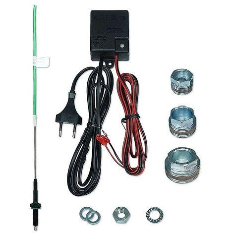 Fremdstromanode ACES G2 400 mm für Warmwasserspeicher bis 1000 Liter - mit Adapter für 3/4'', 1'' und 1 1/4''