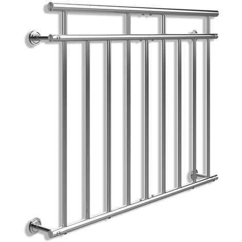 """main image of """"French Balcony Railing Juliet V2A Stainless Steel Balustrades 100 - 225 cm"""""""