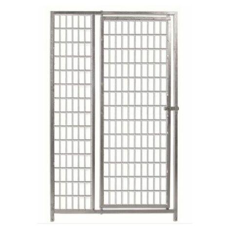 Frente para boxes ECO 100 con puerta-malla 5x10 cm