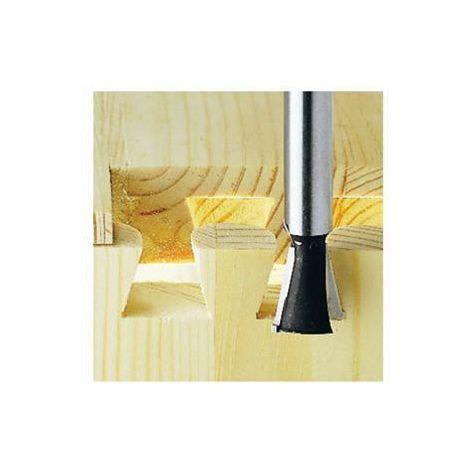 Fresa de cola de milano / dientes HS, vástago 8 mm HS S8 D14,3/13,5/15º Festool
