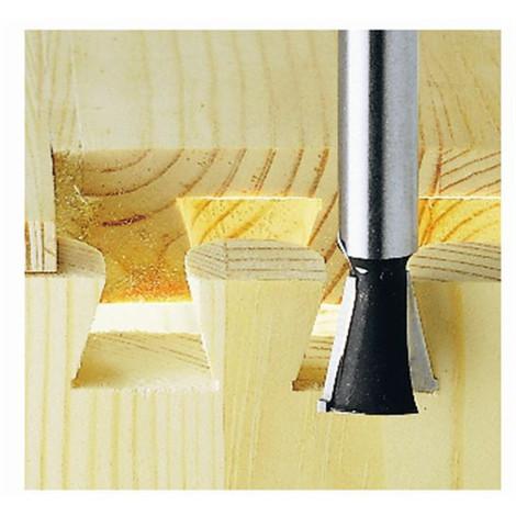Fresa de cola de milano / dientes HW, vástago 8 mm HW S8 D14,3/16/10º Festool