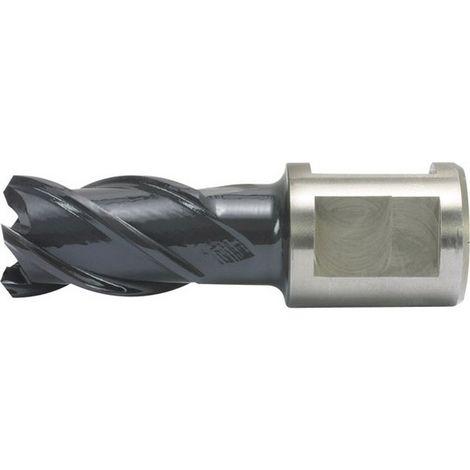 Fresa de timar, Acero de corte rápido Co, - revestimiento RQX, profundidad de corte de 25 mm, Ø de broca : 24 mm