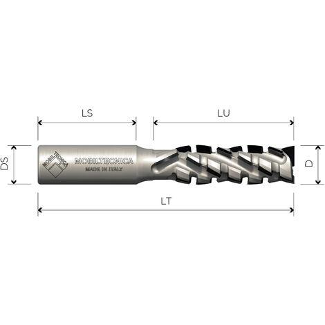 FRESA HELIC DIA Z2+3 AXI. 30° CUERPO DE ACERO PCD H4,5 MM PRINC. POS - MOBILTECNICA