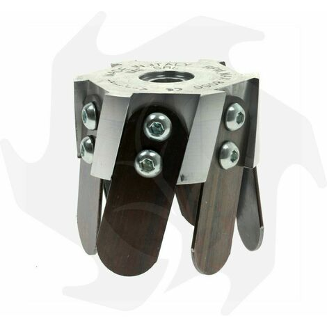 """main image of """"Fresa zappetta testina universale in alluminio per decespugliatore professionale"""""""