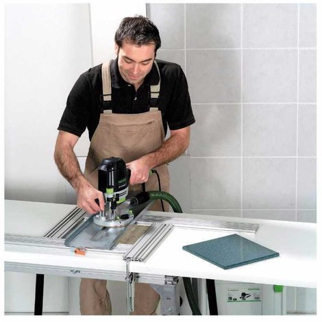 Fresadora OF 1400 EBQ-Plus + Box-OF-S 8/10x HW Festool