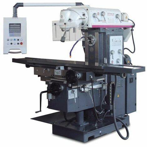 Fresadora universal. SERIE INDUSTRIAL.16 CV / 12 kW / 400 V. OPTIMUM MT 230 S