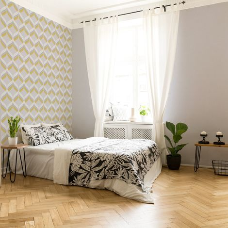 Fresco Fresca Light Grey Plain Wallpaper