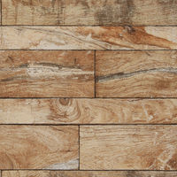 Fresco Horizontal Brown Plank Industrail Wallpaper (Was £11)