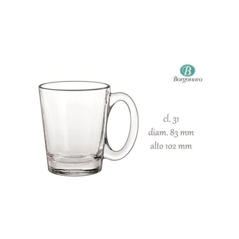 Image of Yeppon - Tazza Mug Conic 31cl 6 Pezzi