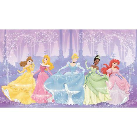 Fresque murale adhésive géante Disney Perfect Princesses - 320 cm, 182,88 cm