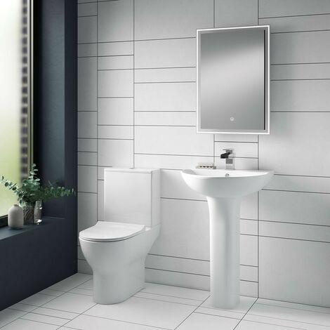 "main image of ""Freya Close Coupled Toilet & Soft Close Seat"""