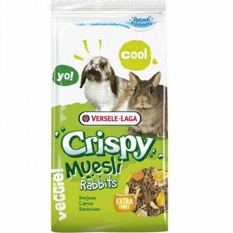 Friandises Crispy Muesli pour lapin nain Versele Laga Sac 2,75 kg