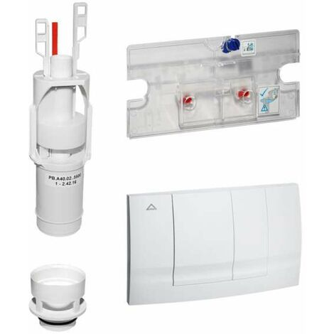 Geberit Ersatz Betätigungsplatte HYTOUCH für Urinal-Steuerung Farbe weiss