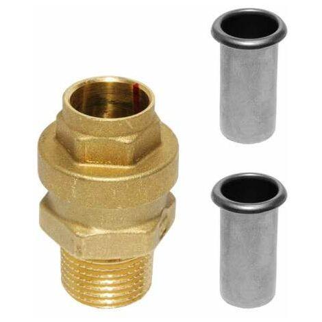 Friatherm Übergang flexibel auf Friatherm Rohr Polybuten (PB) 20x1/2''AG 554802