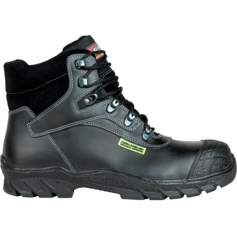 Friburg Black Safety Boots