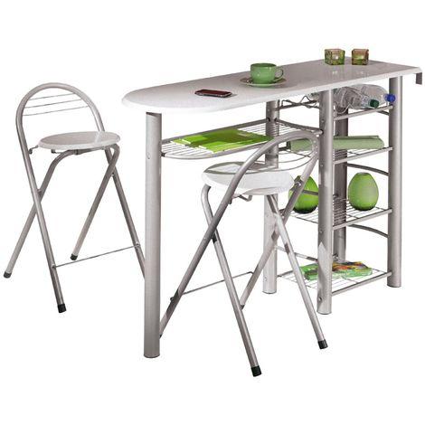 Frifa Bartisch Für die Küche, 5 Ablagen inkl. 2 Stühle ...