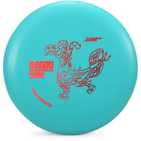 Frisbee De Golf 1Pcs, Disque De Frappe Bleu