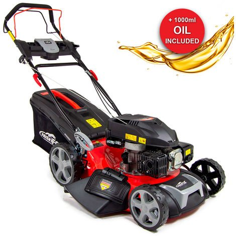 "Frisky Fox 20"" 173cc 4-stroke Recoil Start Lawn Mower with 1L Oil"