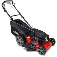 """Frisky Fox 20"""" Quad-Cut 4in1 Self Propelled Petrol Lawn Mower"""