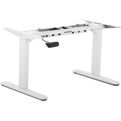 Fromm & Starck Piètement De Bureau Assis Debout Pied Table Blanc