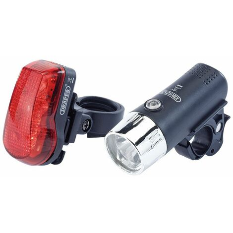 Front and Rear LED Bicycle Light Set (24815)