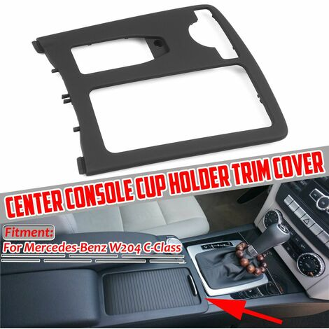 Front Car Cup Holder Center Console Glass Holder Cargo Storage Tray For Mercedes-Benz W204 C-Class 2046800107 9H44