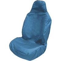 Front Car/Van Seat Cover Waterproof Heavy Duty Protector Universal Fit Blue
