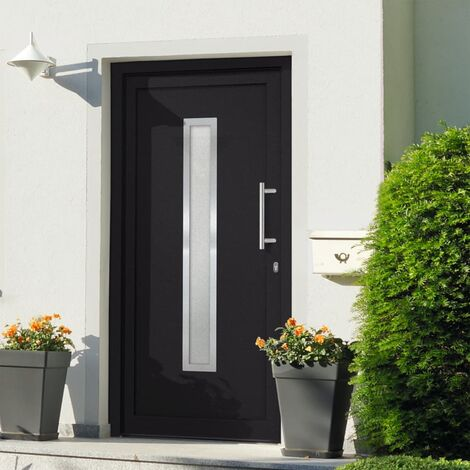 Front Entrance Door Anthracite 108x208 cm